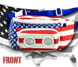 The Americana Bluetooth Fanny Pack Diaper Bag, Freedom, Bags, Party, Life, Liberty, Handbags, Political Freedom, Dime Bags