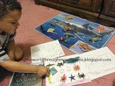 Spanish Home Lessons: Ocean Animals (Animales del Océano)