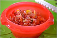 Easy, Fresh, Healthy Salsa! find it here: http://feistyfrugalandfabulous.com/2012/06/easy-fresh-healthy-salsa/