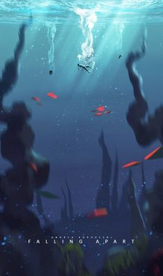 underwater concept art - Google Search