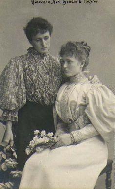 Maria Jose con la figlia M. Gabrielle