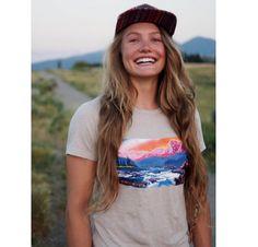 Rachel Pohl rocking her Montana license plate discrete tee #rockdiscrete