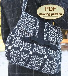 The Land Army Bag PDF Sewing Pattern from Charlies Aunt Designs