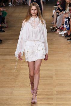 Chloé Spring 2015 Ready-to-Wear Fashion Show - Aneta Pajak (Viva)