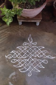 Rangoli Designs Flower, Rangoli Patterns, Rangoli Designs Diwali, Rangoli Designs With Dots, Diwali Rangoli, Rangoli With Dots, Beautiful Rangoli Designs, Free Hand Rangoli Design, Small Rangoli Design