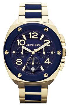 Michael Kors 'Tribeca' Chronograph Bracelet Watch, 43mm | Nordstrom