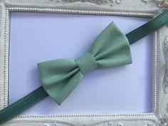 Noeud Papillon élégant Vert Amande - Enfant : Mode garçons par fleurs-de-provence