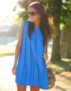 Deep Line Midi Dress