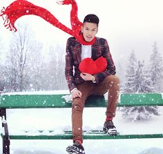It is Christmas in the heart that puts Christmas in the air (by Mike Quyen) http://lookbook.nu/look/4382647-It-is-Christmas-in-the-heart-that-puts-Christmas-in-the-air