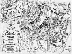 Many happy hours here as a kid...caberfae trail map | caberfae ski area trail map 1951 caberfae ski club caberfae