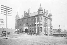 Exchange Building, South St. Paul, 1900 Old Building, Twin Cities, Historical Photos, Minneapolis, Minnesota, Taj Mahal, History, Collections, Travel
