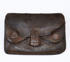 Vintage Leather Wallet MXS $10.98