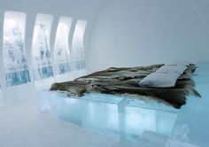 The Icehotel in the Jukkasjarvi village in Sweden is THE ice hotel, being the first one in the world, opened in 1990 by Yngve Bergqvist. The hotel is opened to the public every year, from December to. Unique Hotels, Beautiful Hotels, Beautiful Places, Luxury Hotels, Amazing Places, Dream Vacations, Vacation Spots, Vacation Ideas, Oh The Places You'll Go
