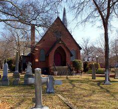 St. Luke's Episcopal Church, est 1842  Lincolnton, NC  photo by K Ferguson