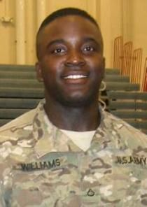 Army Spc. Clarence Williams III, 23, of Brooksville, Florida. Died July 8, 2012, serving during Operation Enduring Freedom. Assigned to 978th Military Police Company, 93rd Military Police Battalion, Fort Bliss, Texas. Died of wounds suffered when enemy forces attacked his unit in Maidan Shahr, Wardak Province, Afghanistan, with an improvised explosive device.