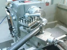 Lathe Tube Notching Jig by mikeyfrombc -- Homemade toolpost-mounted notching jig for a lathe fabricated from steel plate and angle bar. Utilizes a chuck-mounted hole saw to cut tube notches. http://www.homemadetools.net/homemade-lathe-tube-notching-jig