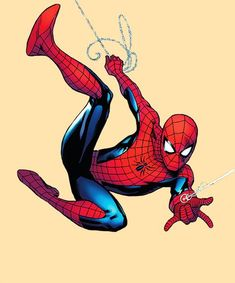 """""""Which is your favorite run from any Spider-Man series? Could be from Amazing or Spectacular or even a short-lived series, which is YOUR run? Spiderman Poses, Spiderman Tattoo, Spiderman Art, Amazing Spiderman, Spiderman Suits, Marvel Art, Marvel Heroes, Spider Man Series, Spectacular Spider Man"""