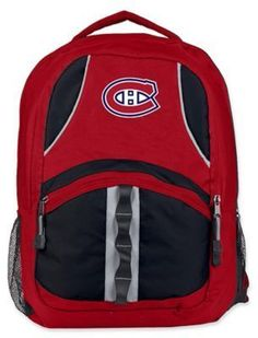 NHL Montreal Canadiens Captain Backpack