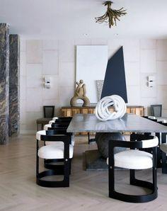 Family Retreat: Kelly Wearstler's Malibu Home | www.bocadolobo.com #bocadolobo #luxuryfurniture #interiordesign #designideas #bestinteriordesigners #topinteriordesigners #interiordesigners #interiordesignUSA