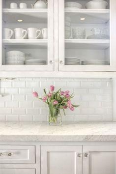 Dreamy Spaces: Bright White Kitchens...