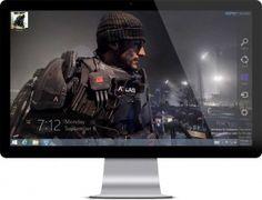 Call of Duty: Advanced Warfare Theme For Windows 7 and Windows 8 Advanced Warfare, Mega Pack, Cool Themes, New Laptops, Modern Warfare, Call Of Duty, Xbox One, Darth Vader, Windows 8