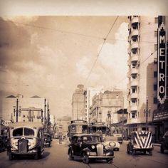 Sao Joao Avenue (circa 1940)  Sao Paulo / Brazil