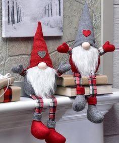 Christmas Gnome, Christmas Knitting, Christmas Holidays, Christmas Decorations, Beard Christmas Ornaments, Outdoor Christmas, Christmas Christmas, Scandinavian Gnomes, Scandinavian Christmas