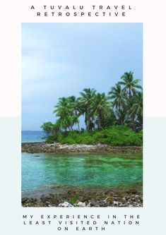 Tuvalu Island in the Pacific - Dream holiday destination or Travel Nightmare?  Tuvalu laguna beach, Untouristy countries, empty beaches, climate chagne tourism, poverty tourism, least visited country in the world. adventure travel, palm tree beaches, tropical destination.  ☆☆ Tuvalu Travel Guide / Bucket List Ideas Before I Die By #Inspiredbymaps ☆☆