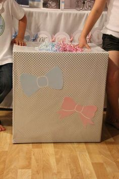 Gender Reveal Birthday Party Ideas | Photo 2 of 22 | Catch My Party