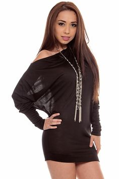 Casual yet stunning! This sweater top features a off shoulder tunic style, dolman sleeves, knit, and finished hem. Pair this with leggings and your favorite boots for the upcoming cold season! #lollicouture #chic #love #croptop #summerfashion #fashionista #summerstyle