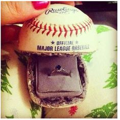 cutest proposal idea ever! (or at a cubs game!)