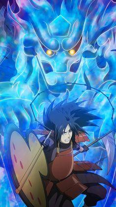 Madara Uchiha is a king Anime Naruto, Naruto Vs Sasuke, Otaku Anime, Susanoo Naruto, Naruto Shippuden Anime, Naruto Art, Itachi Uchiha, Gaara, Naruto Wallpaper