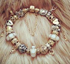 White Gold Pandora Bracelet