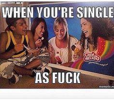 When you're single af Funny Cute, Hilarious, Funny Motivation, Single Af, Funny Memes, Jokes, Dankest Memes, Sarcasm Humor, Daily Memes
