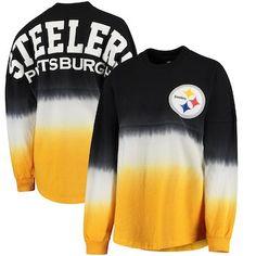 d3556f061ff Pittsburgh Steelers NFL Pro Line by Fanatics Branded Women's Spirit Jersey  Long Sleeve T-Shirt - Black/Gold