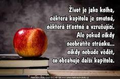 Výsledek obrázku pro kniha života cz Motto, Motivation, Quotes, Relax, Google, Quotations, Mottos, Quote, Shut Up Quotes