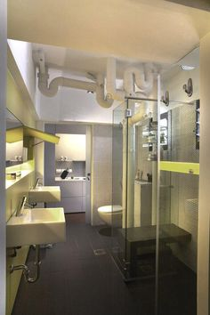 Hdb bathroom renovation- dos and dont's · homeanddecor's picture by home & decor Large Bathrooms, Small Bathroom, Bathroom Ideas, Bathroom Styling, Bathroom Interior Design, Four Rooms, Small Toilet, Home Renovation, Luxury Homes