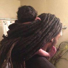 The Home of Locs — Featured King ・・・ Dreads Styles, Curly Hair Styles, Natural Hair Styles, Black Love Art, Black Is Beautiful, Tight Braids, Beautiful Dreadlocks, Black Artwork, Dreadlock Hairstyles