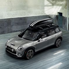 From its spacious boot to the versatile Rear Split Doors, the new MINI Clubman might be your family packing solution. Mini Cooper Clubman, Mini Countryman, Mini Cooper Custom, Mini Cooper S, Mini Usa, E Mobility, Cute Cars, Love Car, Roof Rack
