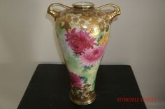 Gorgeous!!!  Hand Painted Nippon Vase