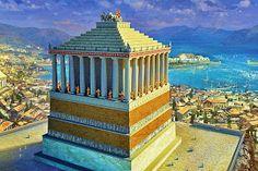 O Túmulo de Mausolo em Halicarnasso. | Pena Pensante - Literatura | História | Cultura