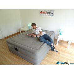 Le lit gonflable Foam Top Deluxe est ferme, confortable et a un toucher doux et une structure plate. Idéal en lit d'appoint en maison ou appartement ! Plus d'explications ici : http://www.raviday-matelas.com/lit-gonflable-intex-foam-top-deluxe-2-personnes/  #intex #matelas #lit #appoint #électrique #confort #fermeté #maison #appartement #décoration