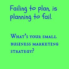 Marketing Strategy #smallbusiness Small Business Marketing, How To Plan