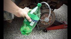 Bleed brakes by yourself - DIY Brake Bleeder tool - Brake flush Tire Steps, Car Fix, Diy Garage Storage, Brake Fluid, Automotive Tools, Car Accessories, Vehicle Repair, Car Repair, Automobile