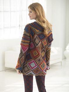 Ravelry: Jewel Box Pullover pattern by Irina Poludnenko