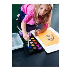 MÅLA Watercolor box, assorted colors - assorted colors - IKEA