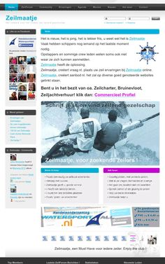 #Zeilers, #watersporters, #watersportshops, #watersportverenigingen, #zeilverenigingen.  LET op !!  TE KOOP: ZEILMAATJE.NL  https://www.facebook.com/watersport4all.nl/posts/727864450629099:0