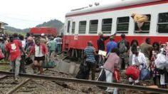 Image copyright                  Getty Images                                                                          Image caption                                      A passenger train travelling from Capital, Yaounde to Douala derailed killing 79 people and injuring more than 300                                More than 20,000 people died on Cameroon's