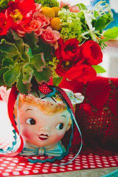 Quirky & Kitsch Retro Wedding Inspiration