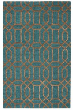 Capital Area Rug - Transitional Rugs - Geometric Rugs - Hand-tufted Rugs - Wool Blend Rugs - Blended Rugs | HomeDecorators.com